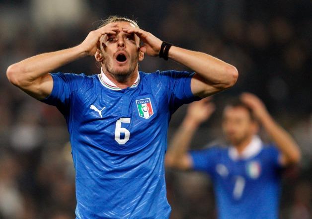 Italy Uruguay Soccer